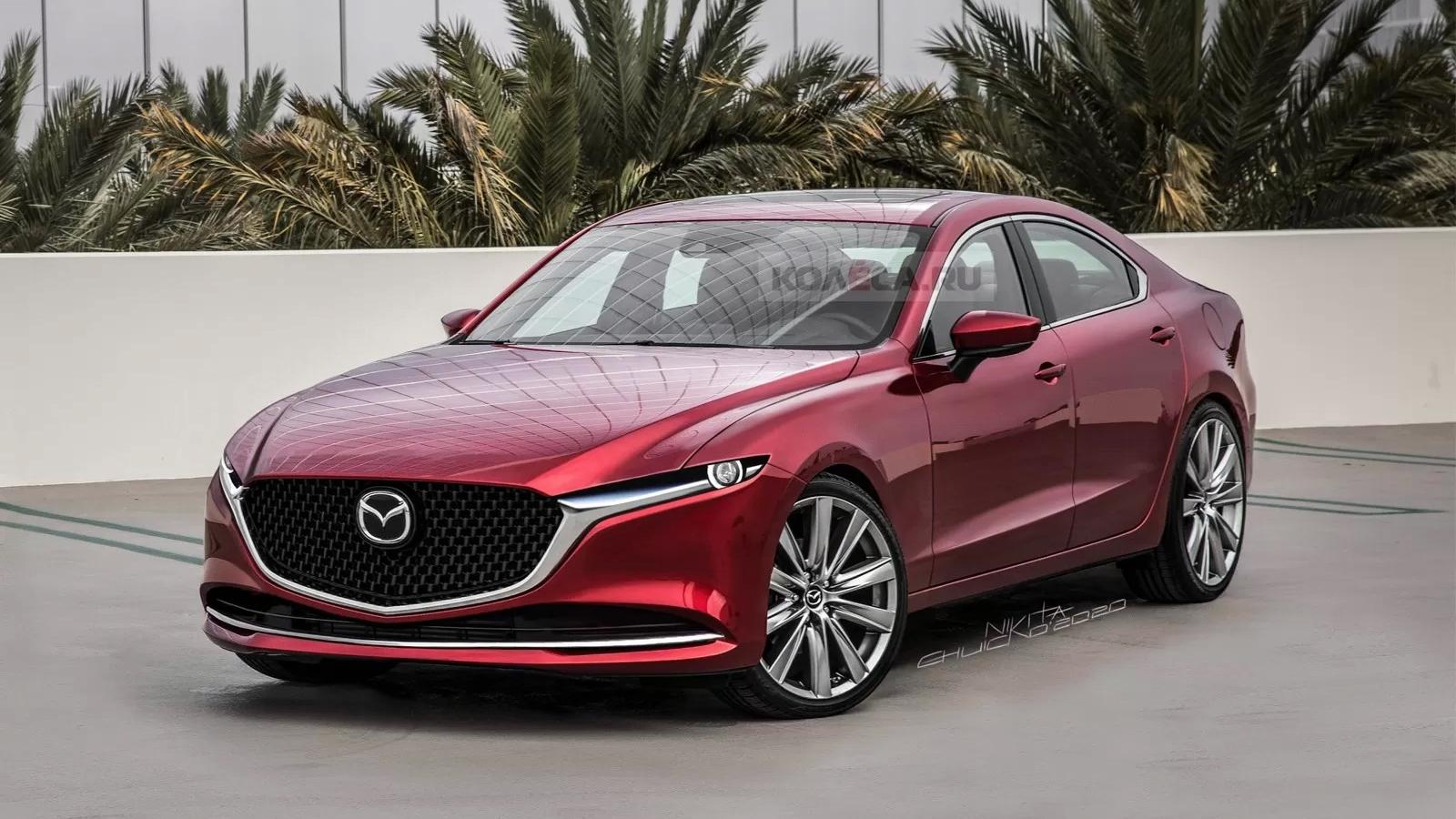 Mazda6 2023 ngầu hơn với thiết kế mới