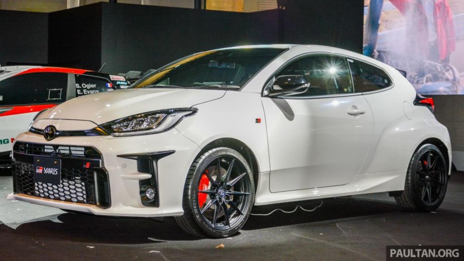 3 phiên bản thể thao Toyota GR Yaris chính thức được giới thiệu