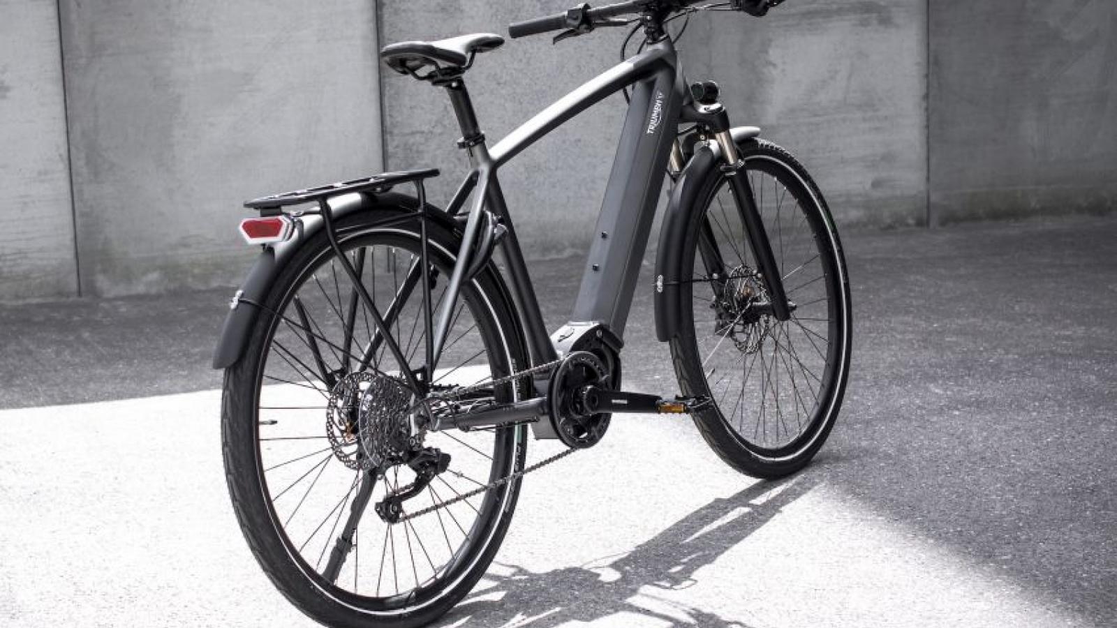 Triumph bất ngờ quay lại sản xuất xe đạp điện