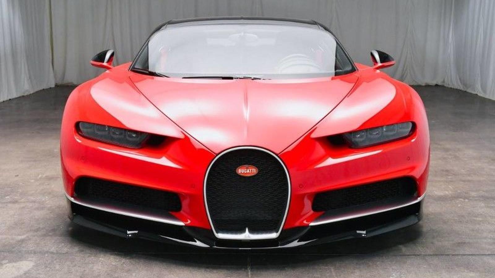 Chi tiết chiếc Bugatti Chiron đang được bán với giá 3,1 triệu USD