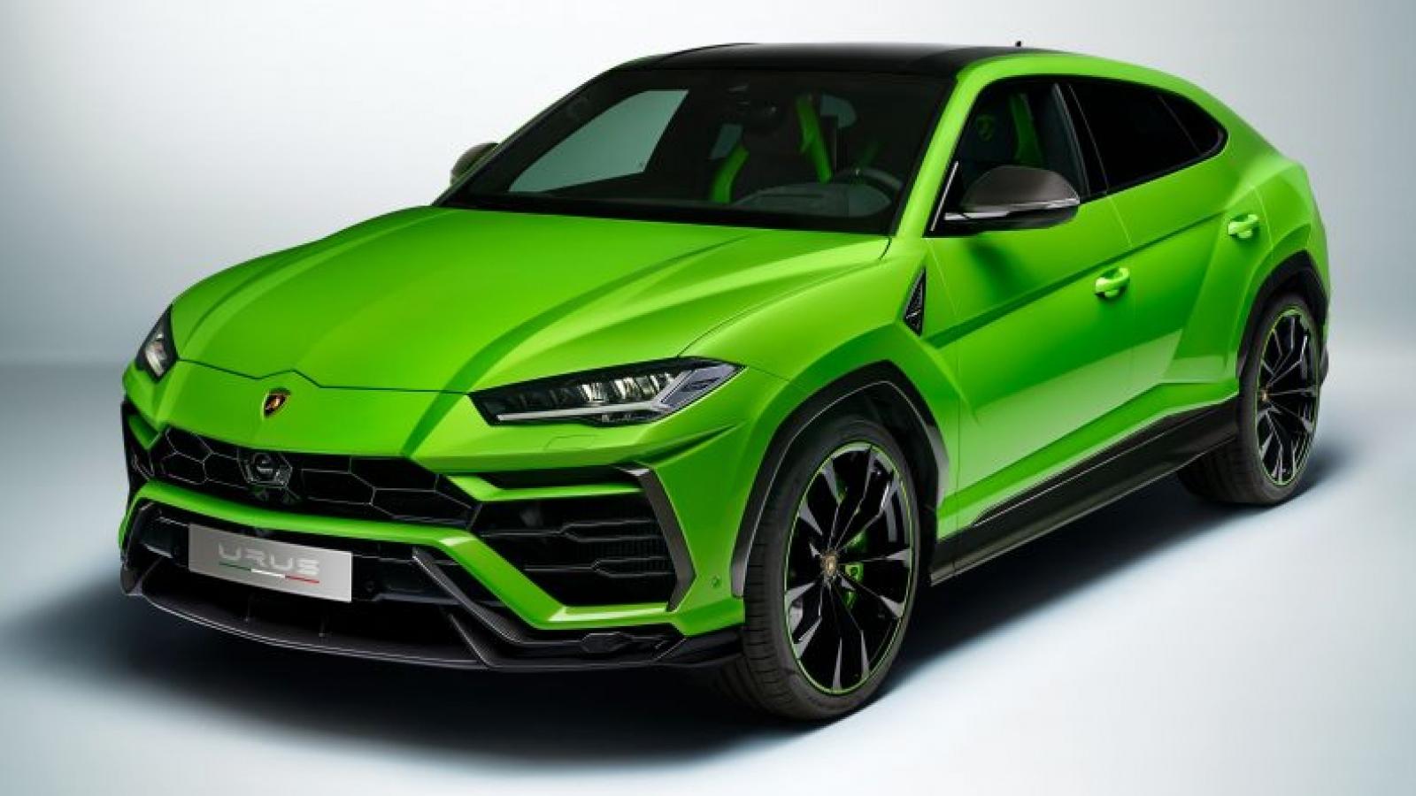 Siêu SUV Lamborghini Urus 2021 ra mắt phiên bản Pearl Capsule
