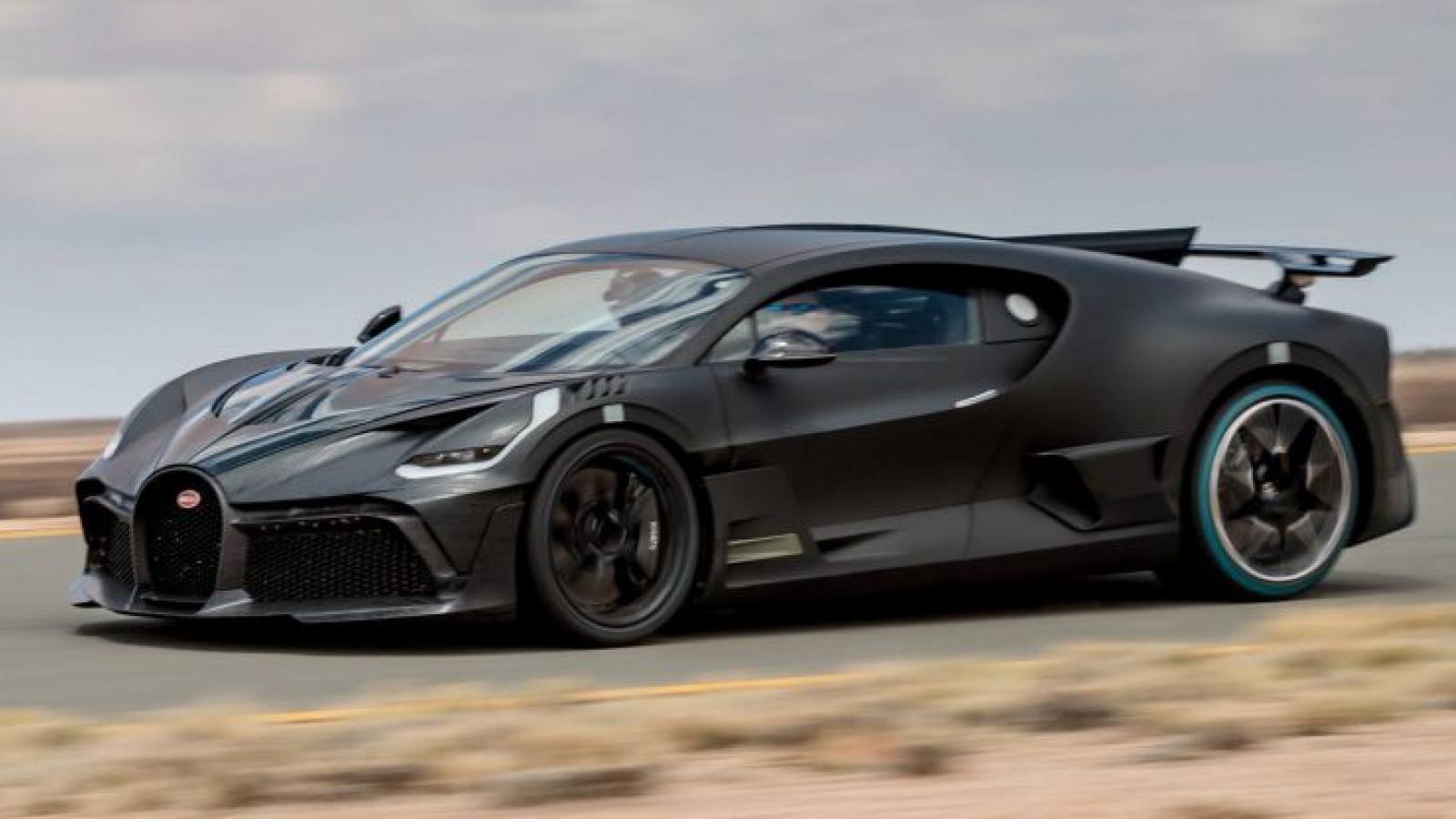 Bắt gặp Bugatti Divo hơn 5 triệu USD tại trường đua Nurburgring