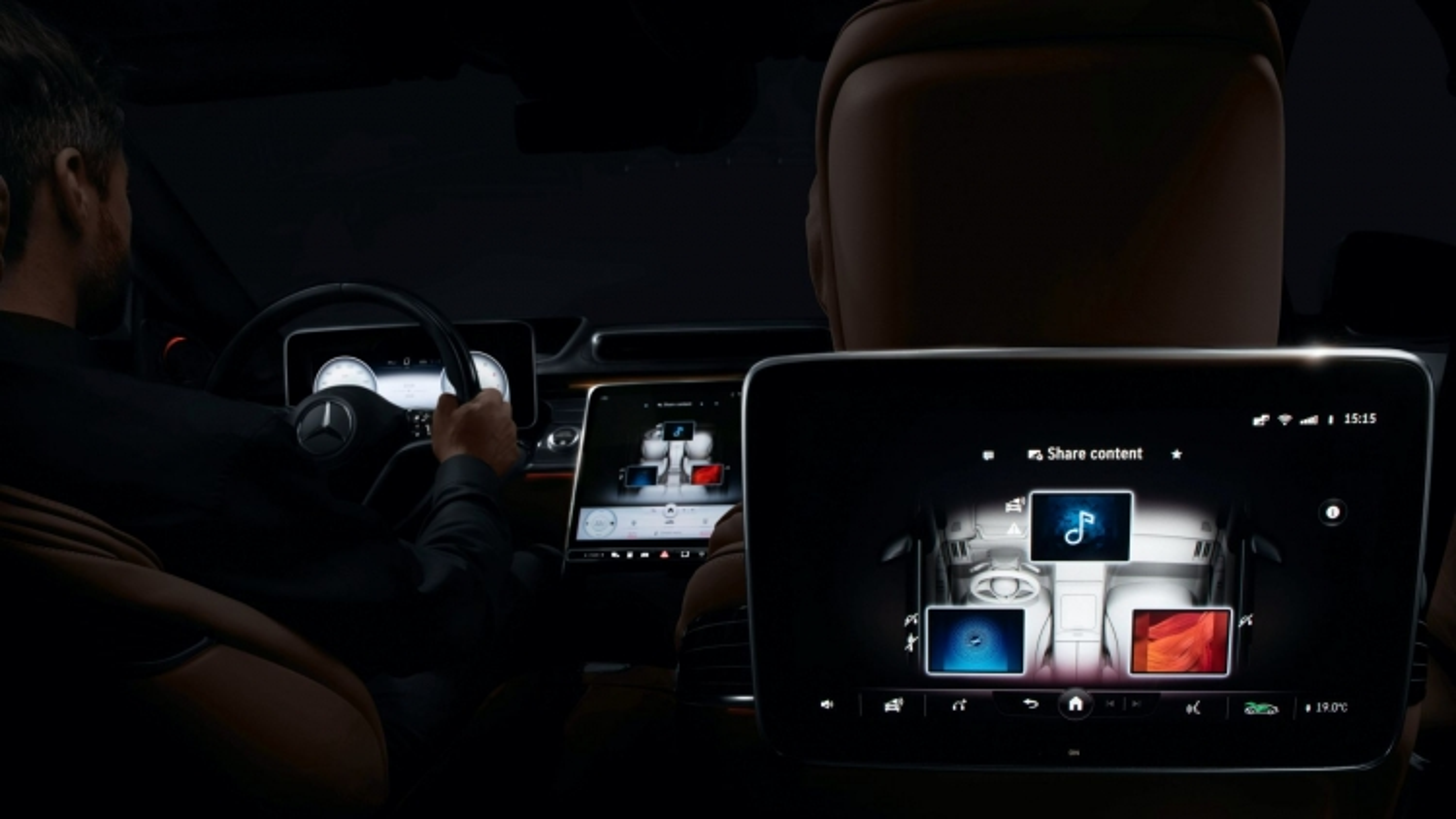 Hình ảnh dự đoán về chiếc Mercedes-Benz S-Class 2021