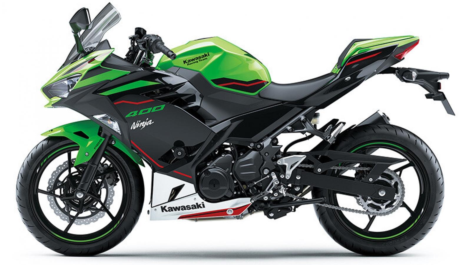 Kawasaki Ninja 400 2021 có thêm 4 màu sơn mới
