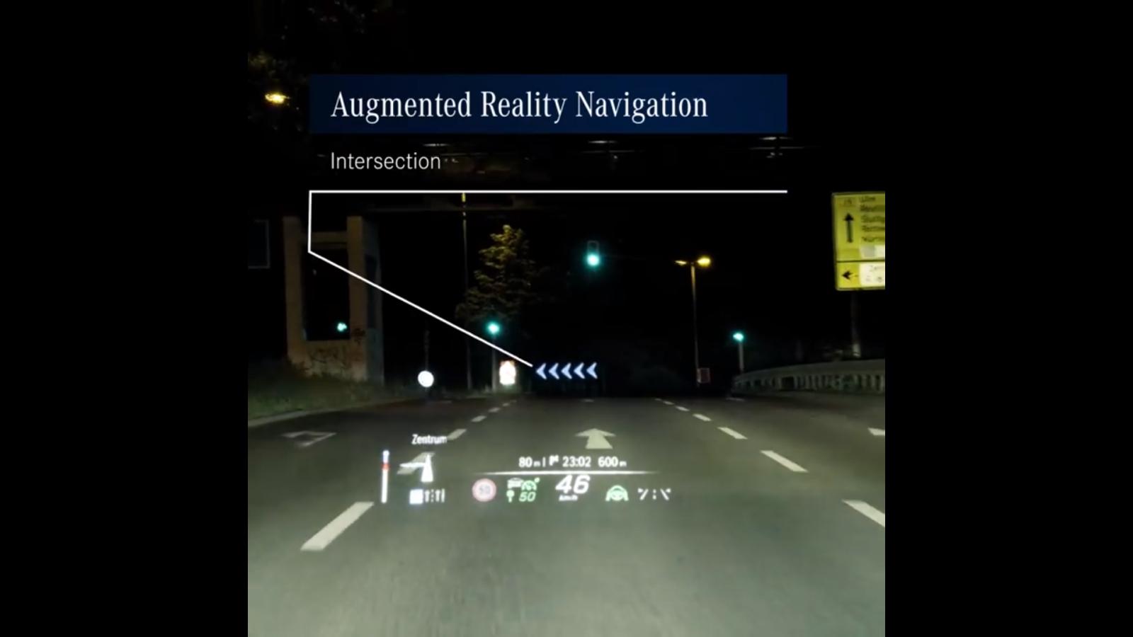 Mercedes-Benz S-Class 2021 sẽ có màn hình hiển thị với công nghệ AR