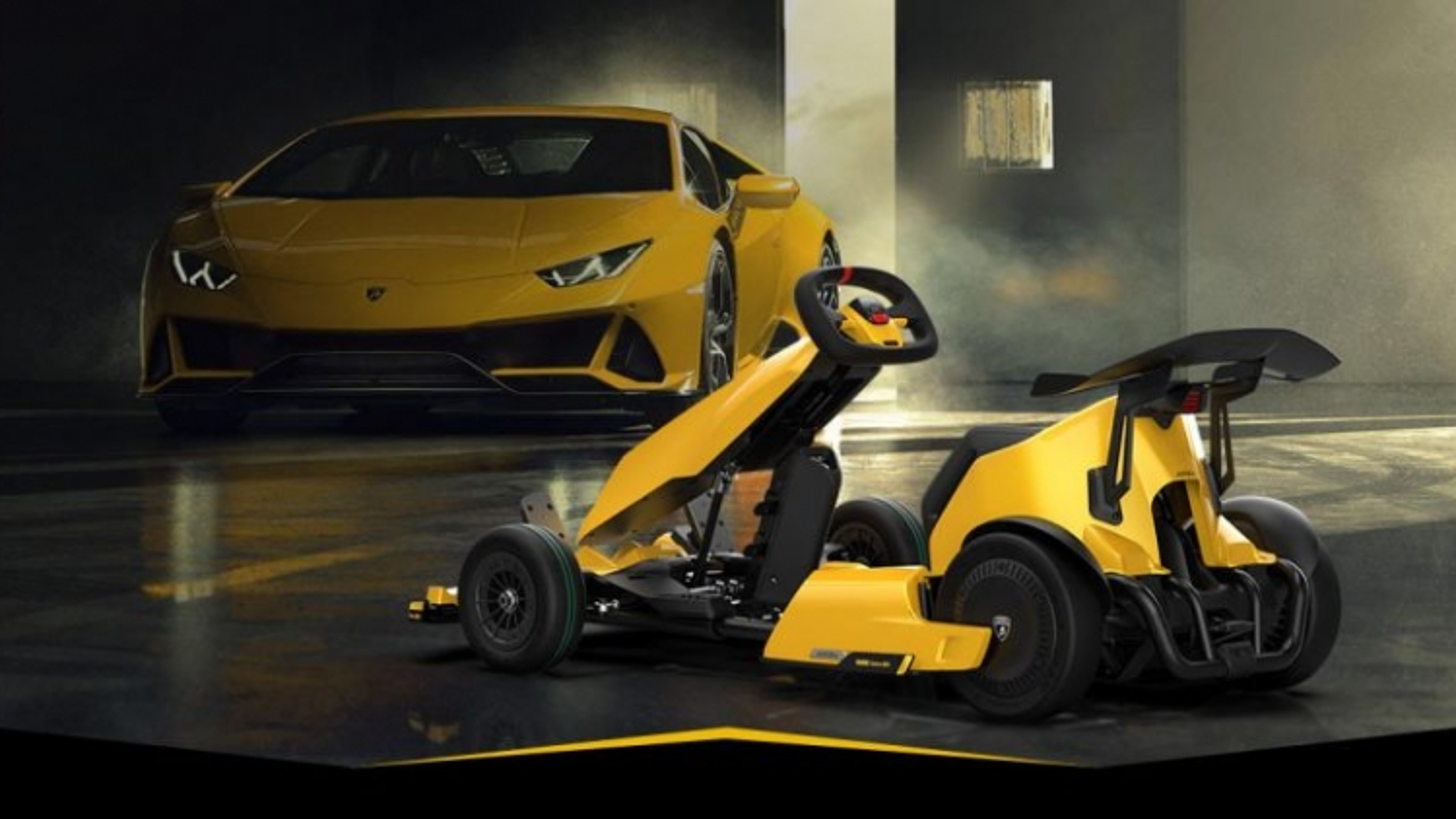 Xiaomi và Lamborghini hợp tác cho ra mắt phiên bản go-kart đặc biệt