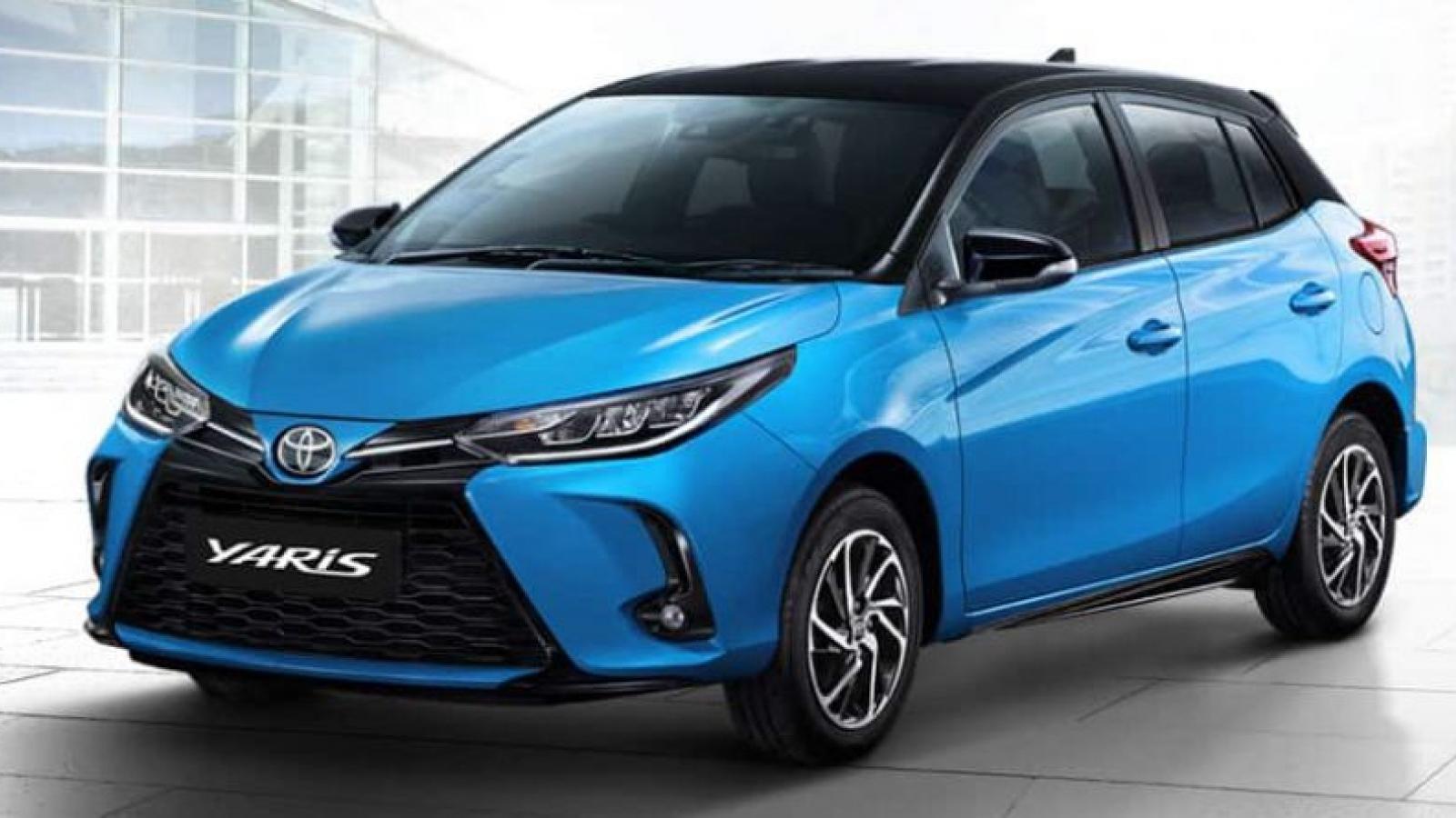 Cận cảnh bộ đôi Toyota Yaris và Ativ 2020