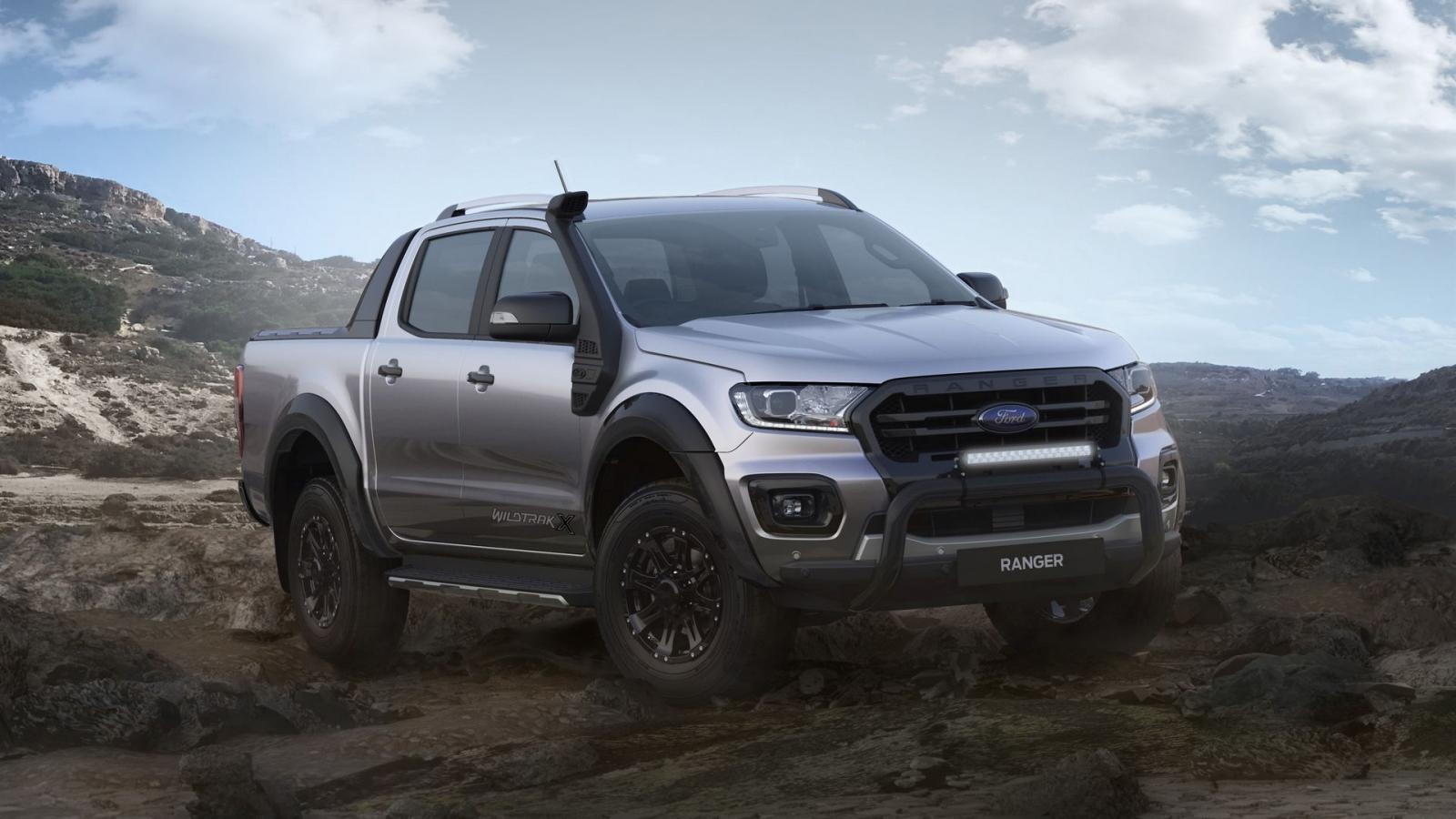 Ford Ranger Wildtrak X 2020 chỉ dành riêng cho thị trường Australia