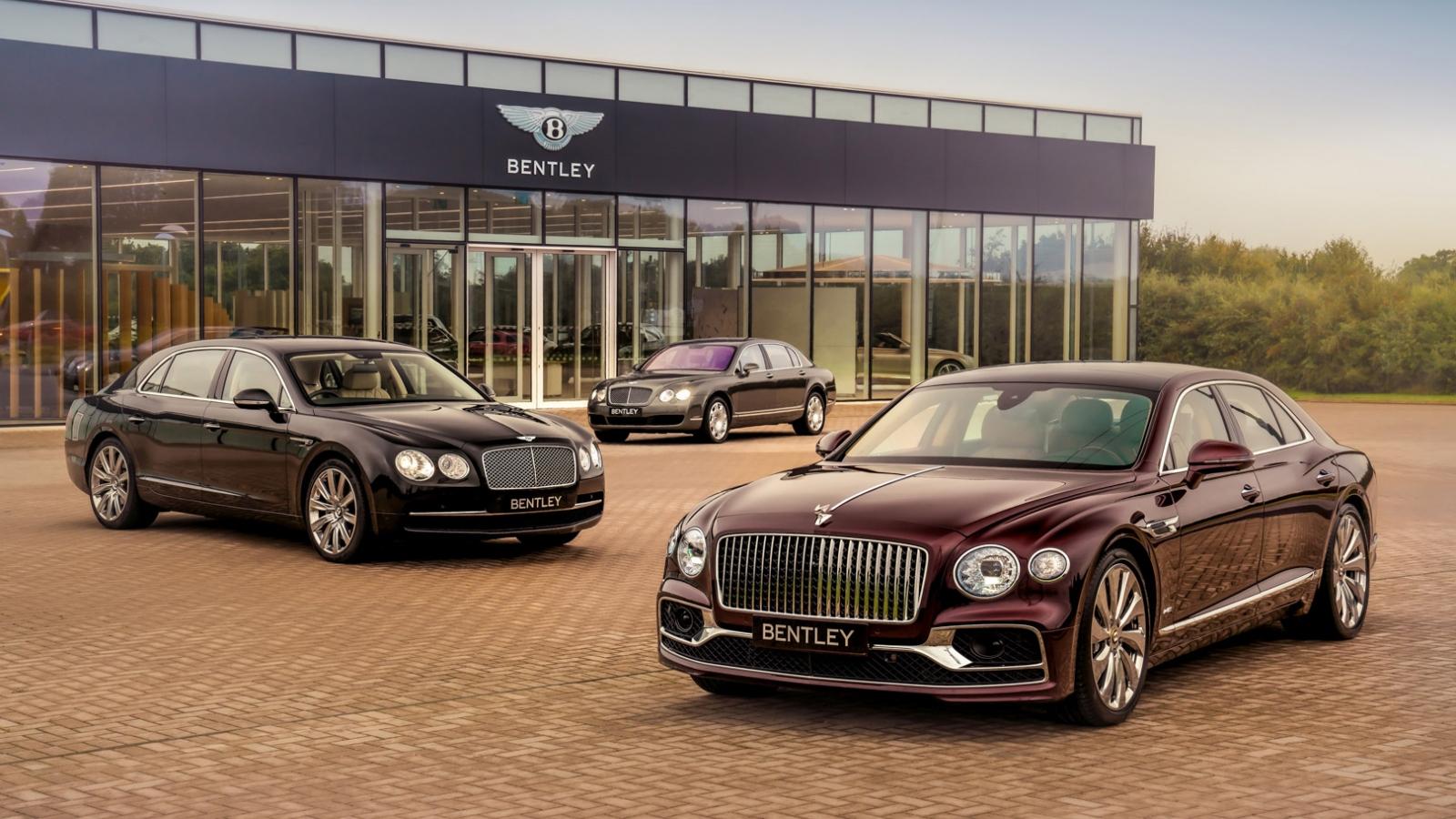 Bentley xuất xưởng chiếc Flying Spur thứ 40.000