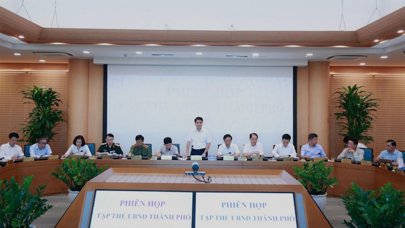 Hà Nội họp nhiều nội dung quan trọng trình kỳ họp thứ 15 HĐND TP