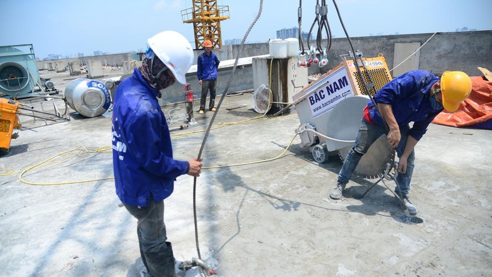 Hà Nội yêu cầu chủ đầu tư công trình 8B Lê Trực hoàn trả tiền cưỡng chế