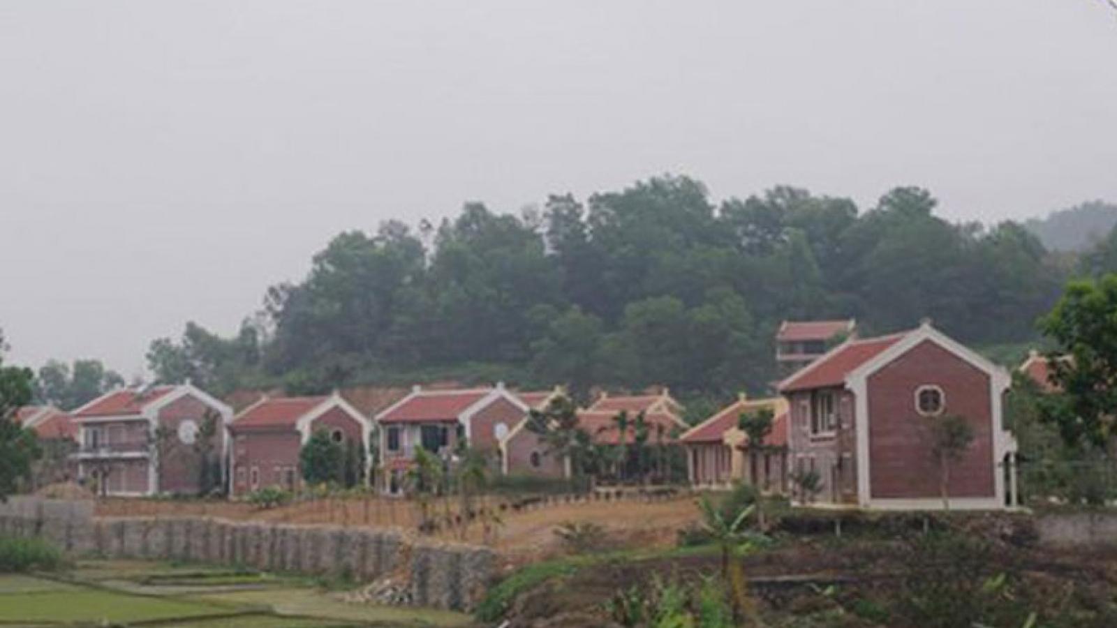 Chủ tịch Hà Nội nói về sai phạm quản lý đất đai tại Ba Vì, Sóc Sơn