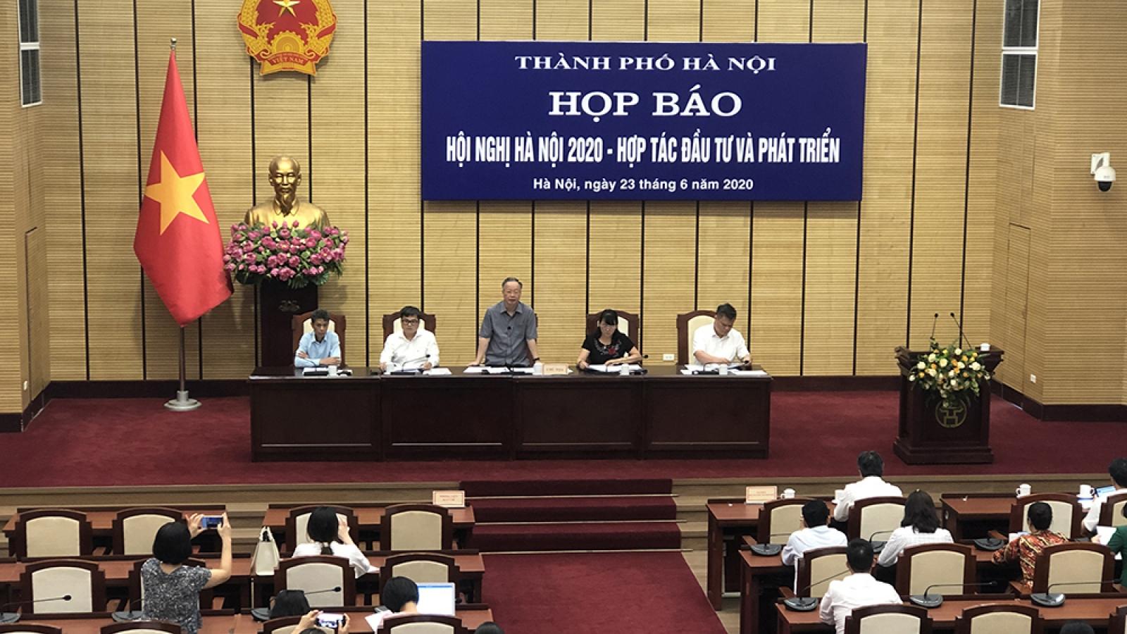 Hà Nội mở hội nghị đầu tư kêu gọi vốn 282 dự án, sau đại dịch Covid-19