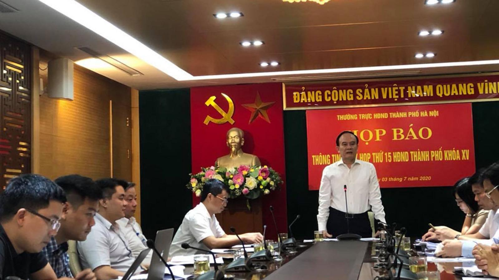 Kỳ họp thứ 15 HĐND TP Hà Nội chưa xem xét tư cách đại biểu Bí thư quận ủy Hà Đông