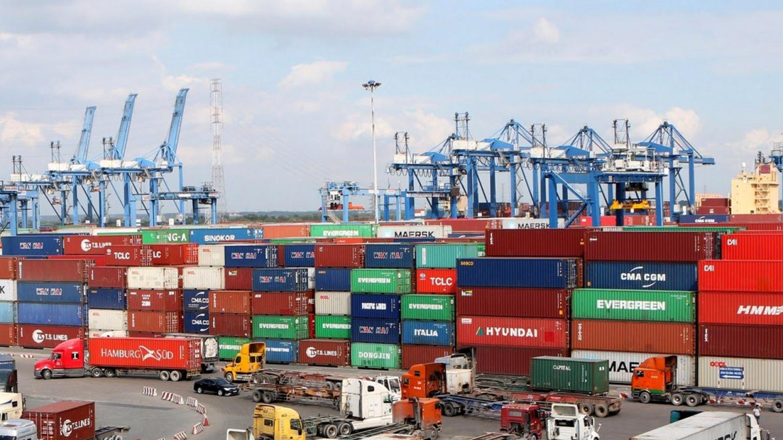 Hơn 1.000 container phế liệu đang tồn đọng tại cảng Cát Lái
