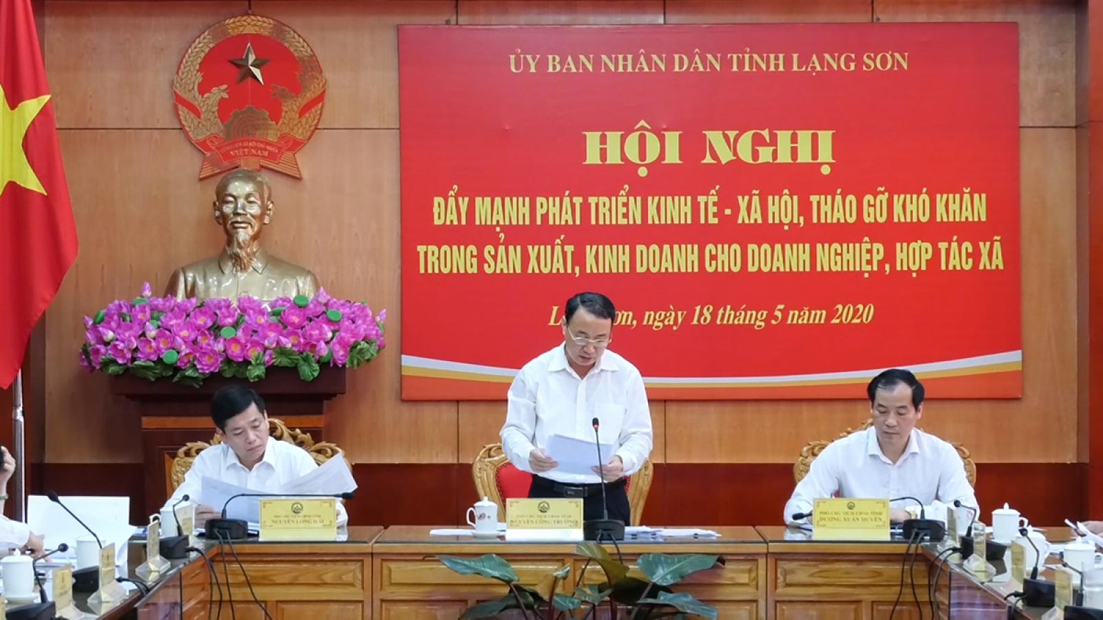 Lạng Sơn tháo gỡ khó khăn cho doanh nghiệp và hợp tác xã