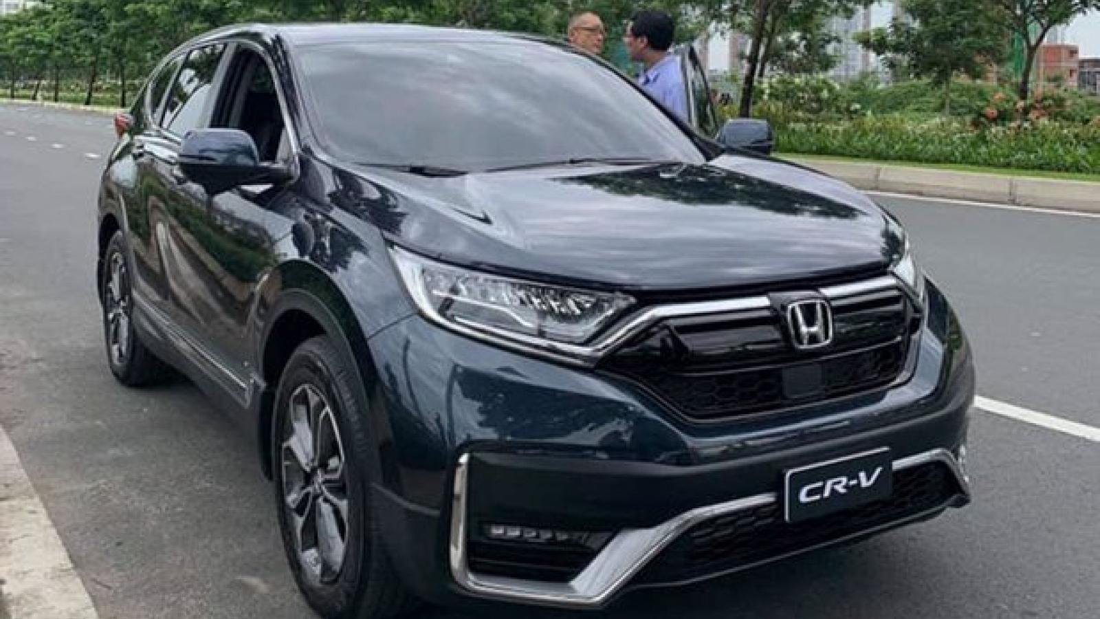 Rò rỉ thông tin, trang bị của Honda CR-V 2020 trước ngày ra mắt