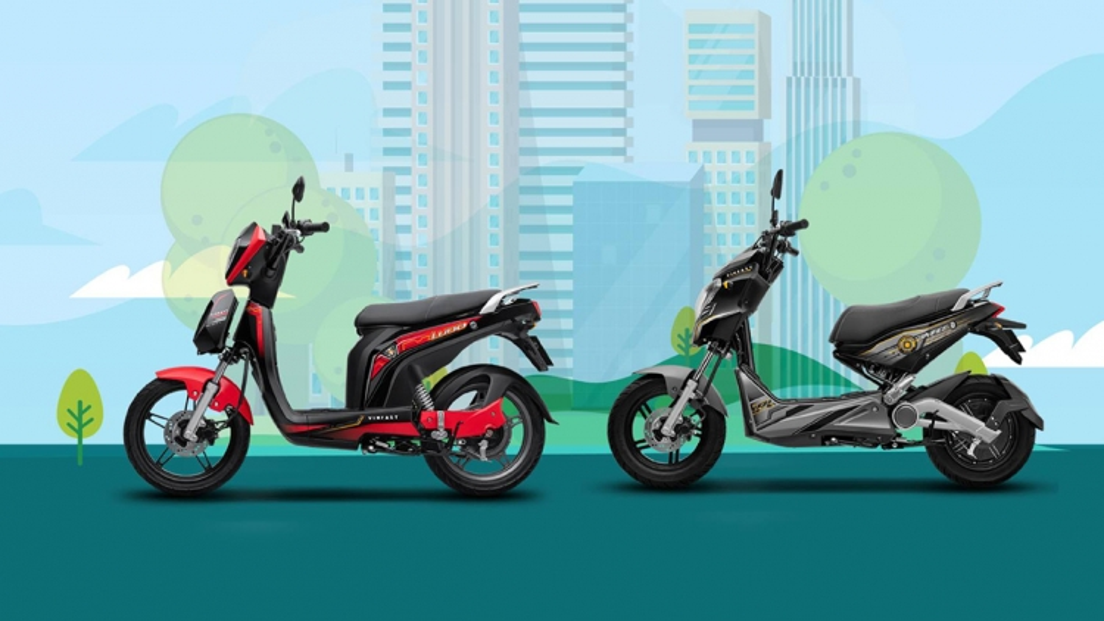 5 ưu điểm vượt trội của xe máy điện VinFast Ludo và Impes