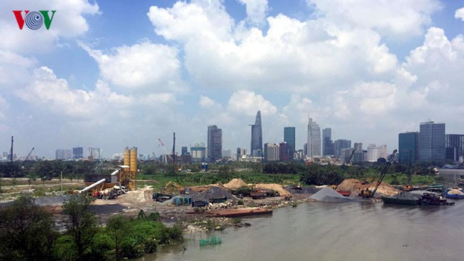 Đề xuất nhà đầu tư xây nhà cao tầng, chung cư phải đóng phí chống ngập