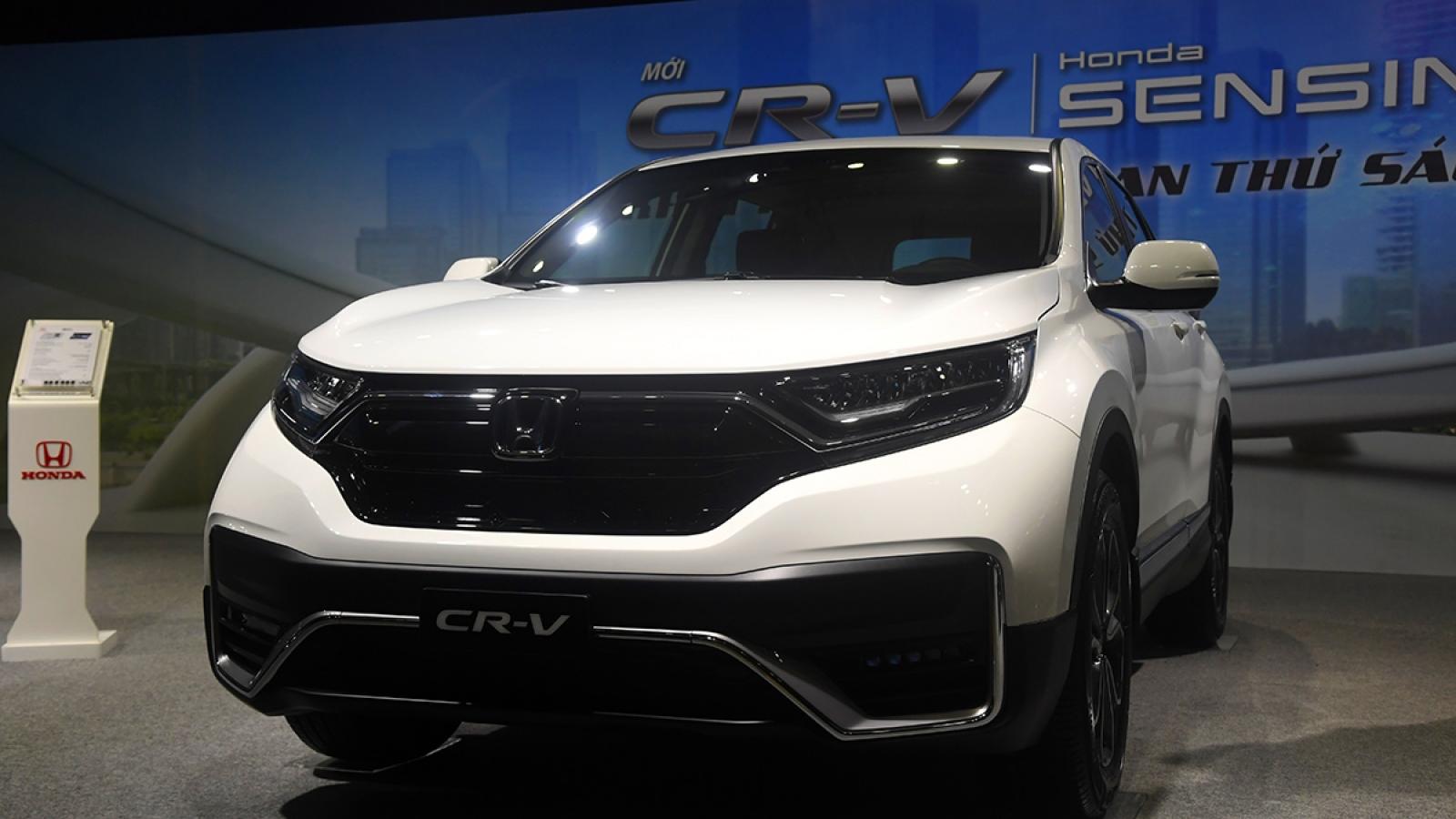 Honda CR-V 2020 chốt giá từ 998 triệu đồng tại Việt Nam