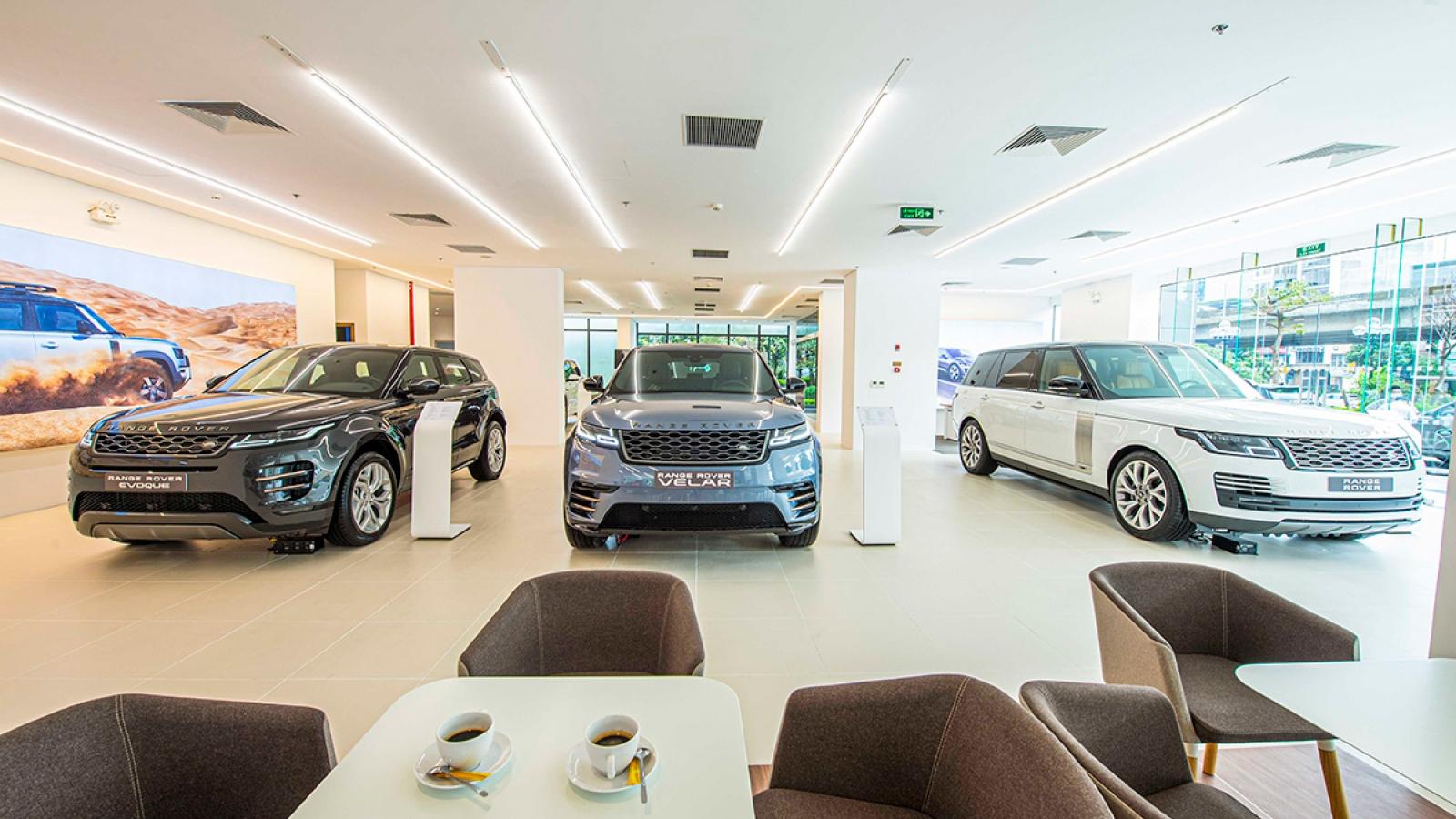 Jaguar Land Rover có showroom đầu tiên tại Hà Nội