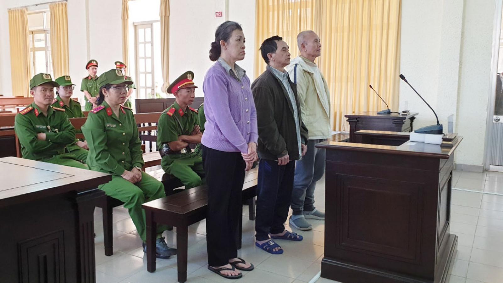 19 năm tù giam cho 3 đối tượng phạm tội lật đổ chính quyền nhân dân