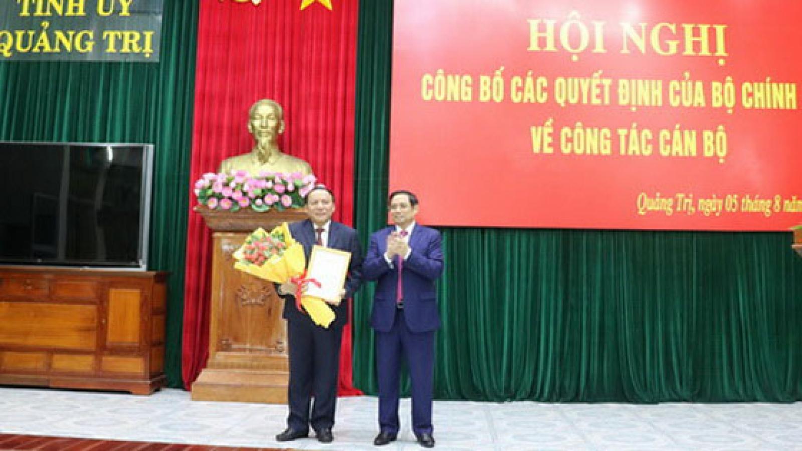 Bí thư Tỉnh ủy Quảng Trị làm Thứ trưởng Bộ Văn hóa- Thể thao và Du lịch