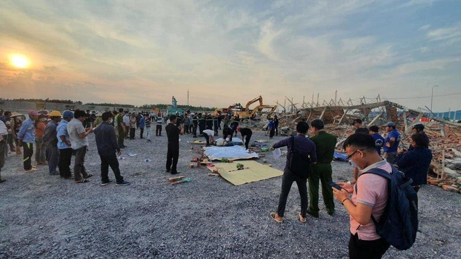 Sập công trình khiến 10 người chết: Xác định công ty trúng thầu gói xây dựng