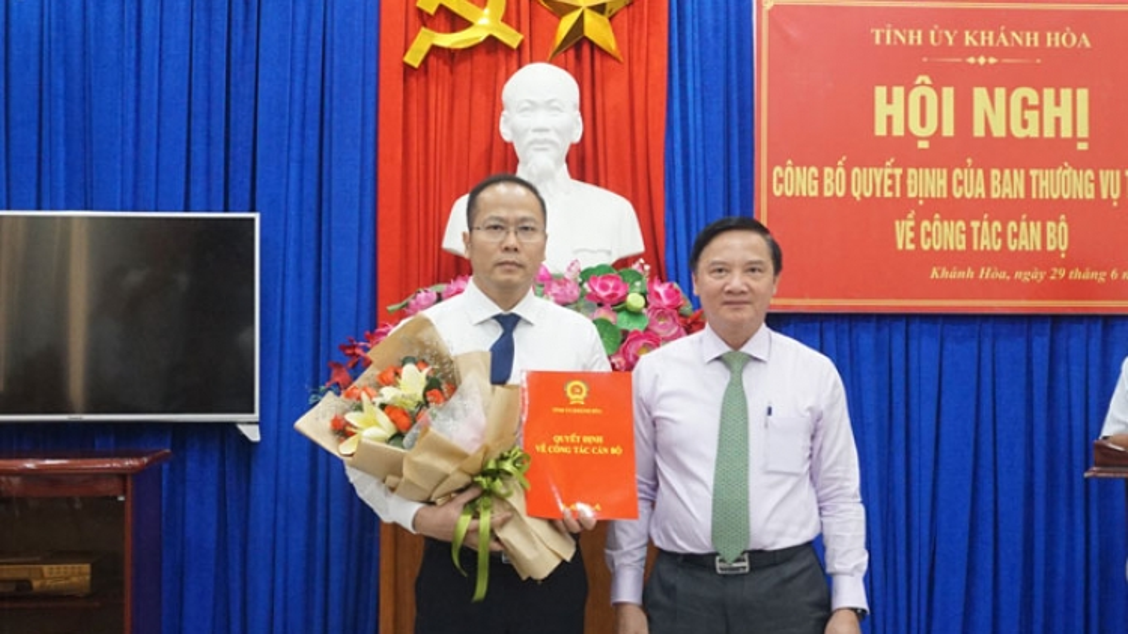 Ông Nguyễn Khắc Hà giữ chức vụ Trưởng Ban Tổ chức Tỉnh ủy Khánh Hòa