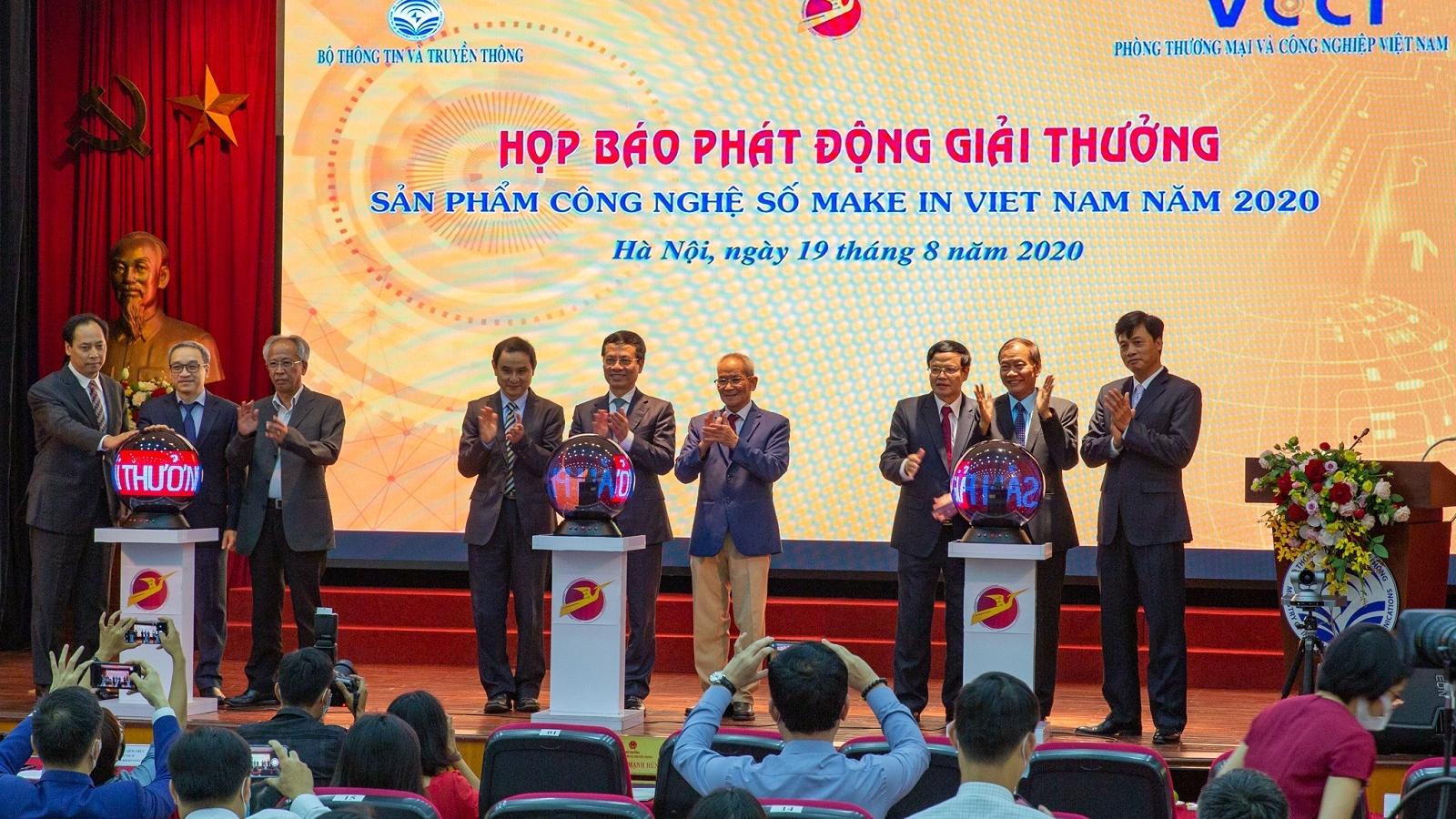 """Phát động giải thưởng """"Sản phẩm Công nghệ số Make in Vietnam 2020"""""""