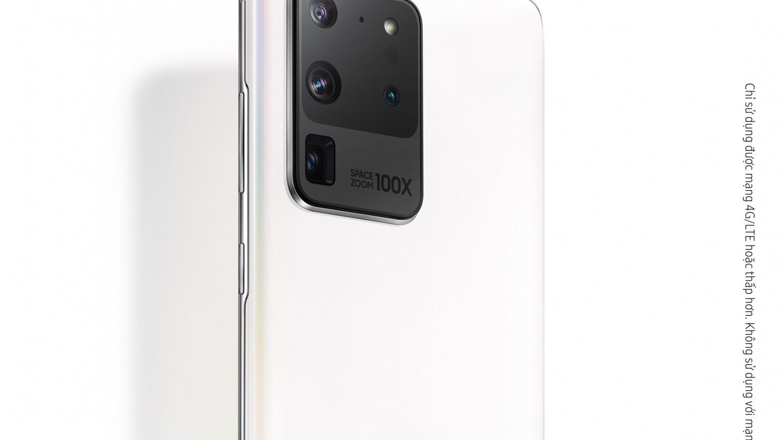 Samsung ra mắt Galaxy S20 Ultra – Phiên bản giới hạn Trắng Thiên Vân