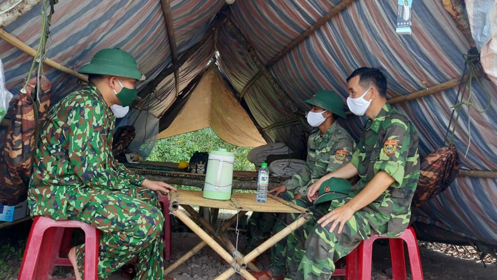 Bộ đội Biên phòng kích hoạt lại toàn bộ hoạt động chống dịch Covid 19