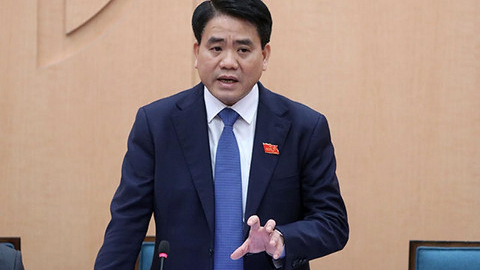 Bộ Chính trị đình chỉ sinh hoạt Đảng với ông Nguyễn Đức Chung