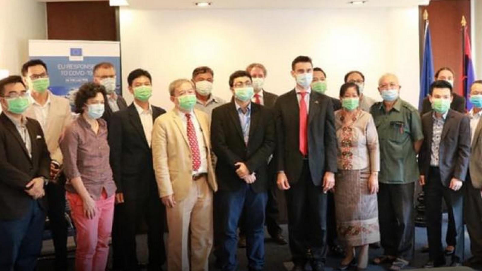 EU tài trợ 2,5 triệu ero giúp Lào giảm nhẹ tác động của Covid-19