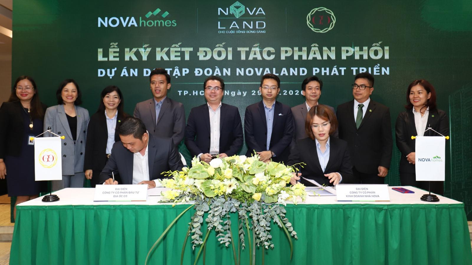 Novaland tăng cường hợp tác với nhiều đơn vị phân phối uy tín