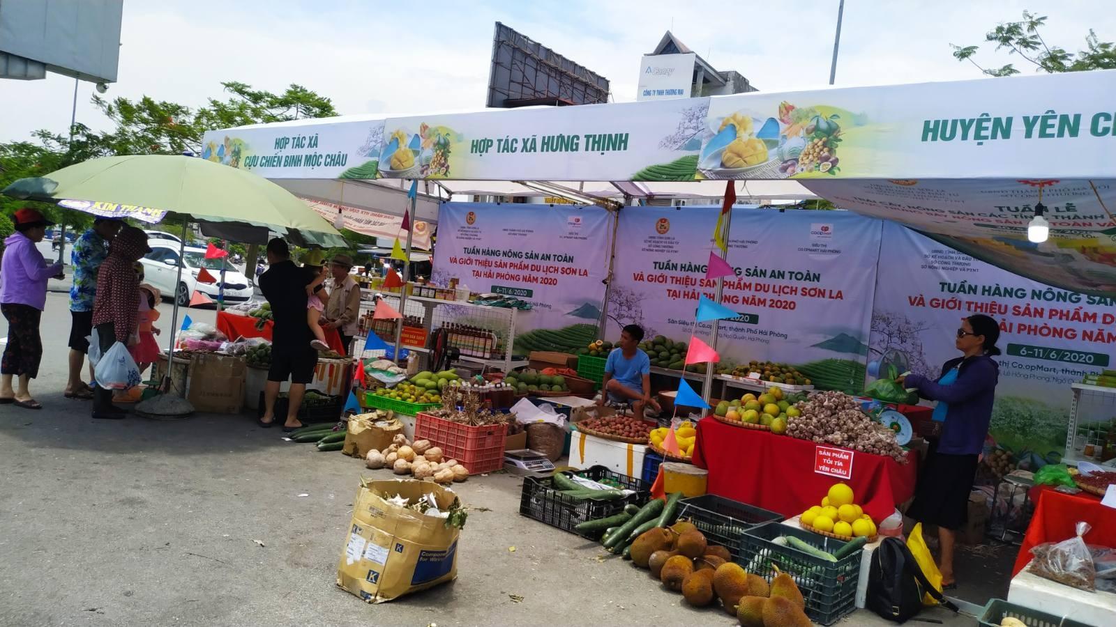 Sơn La-Hải Phòng quảng bá, tiêu thụ nông sản và sản phẩm du lịch