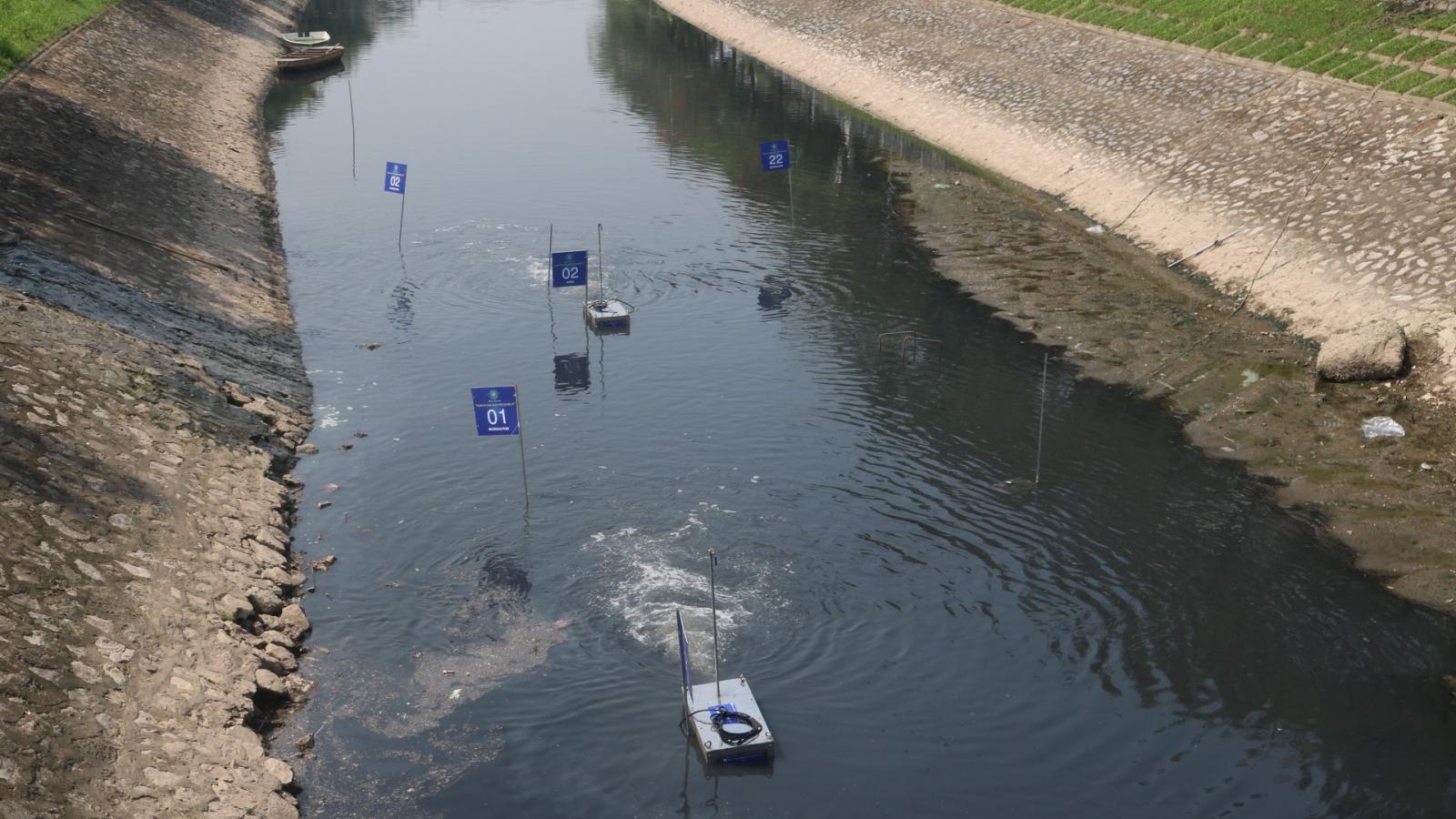 Công ty Việt Nhật có từ bỏ xử lý ô nhiễm sông Tô Lịch?