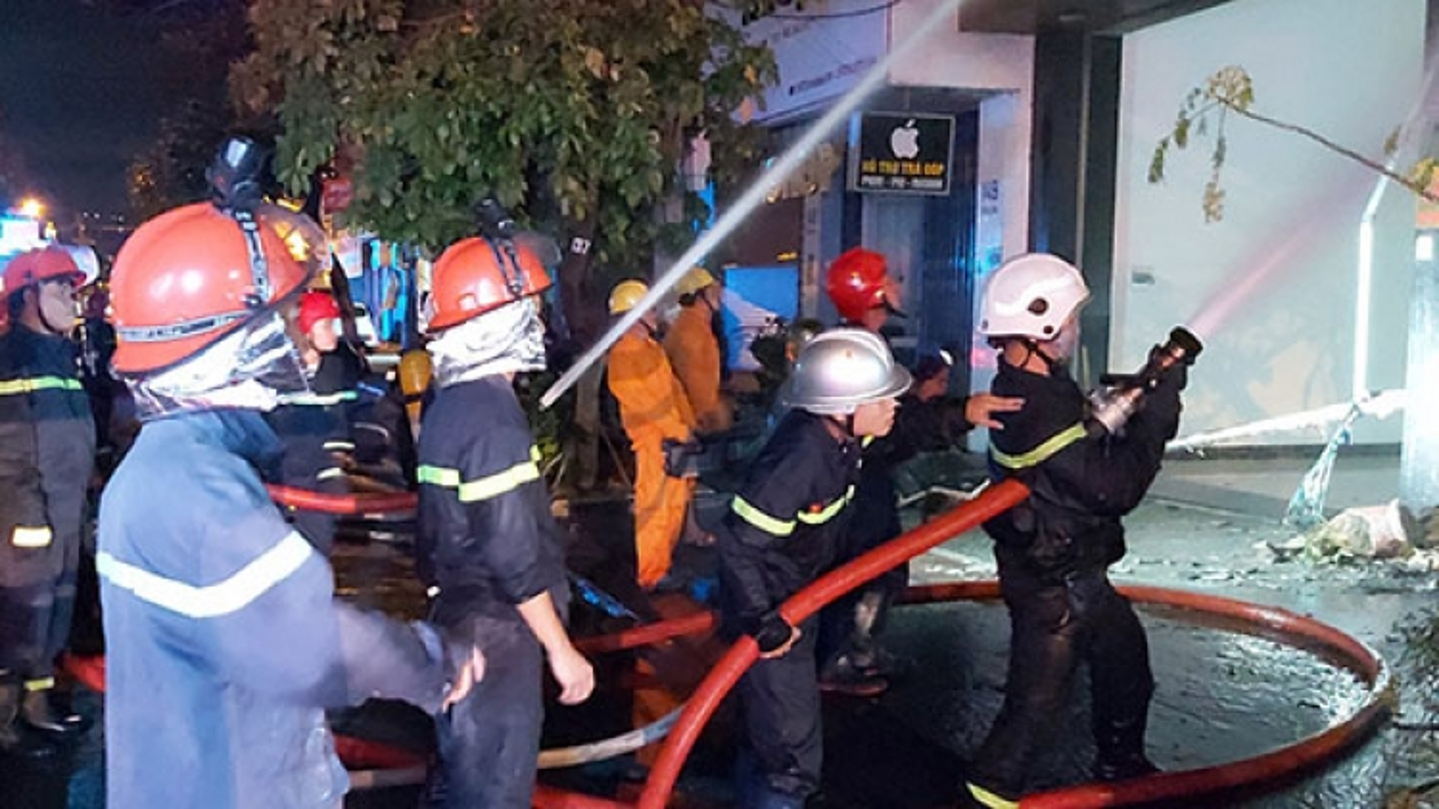 Hỏa hoạn ở ngôi nhà 2 lần cháy trong đêm tại Đà Nẵng