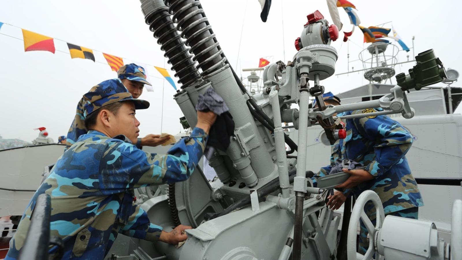 Chiến sĩ vùng 1 Hải quân: Sẵn sàng bảo vệ chủ quyền biển đảo