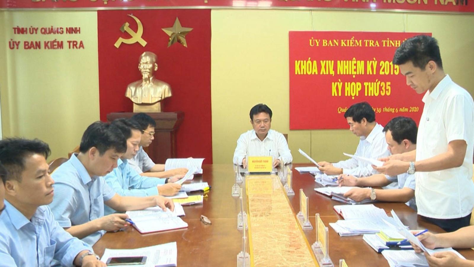 Quảng Ninh kỷ luật 2 Phó Chủ tịch Thành phố Cẩm Phả