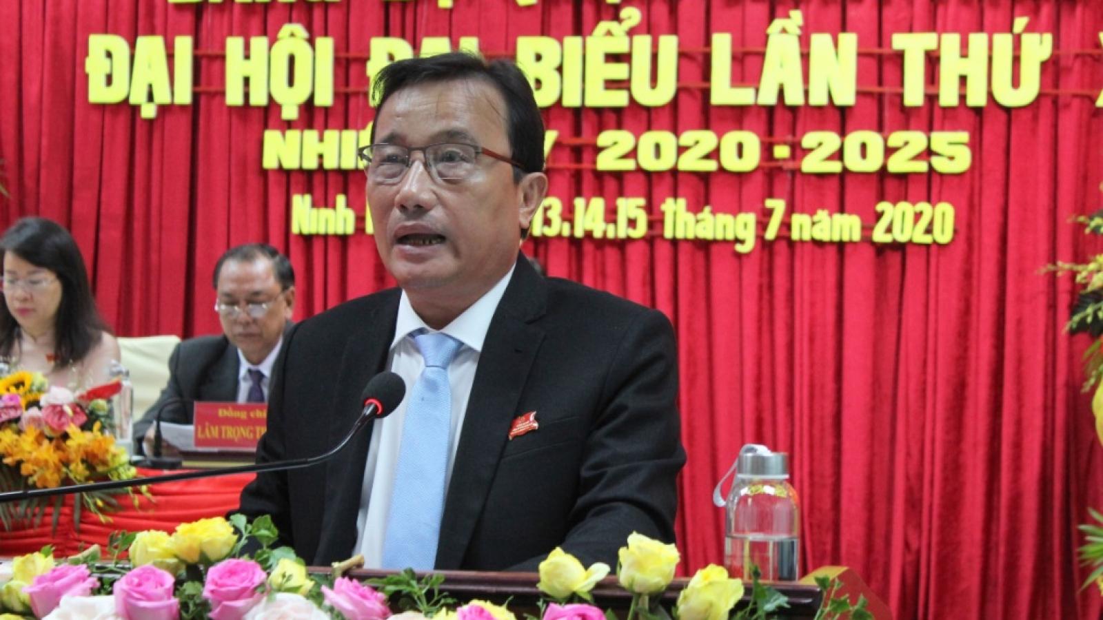 Ông Nguyễn Tiền Phong tái đắc cử Bí thư Quận ủy Ninh Kiều – Cần Thơ