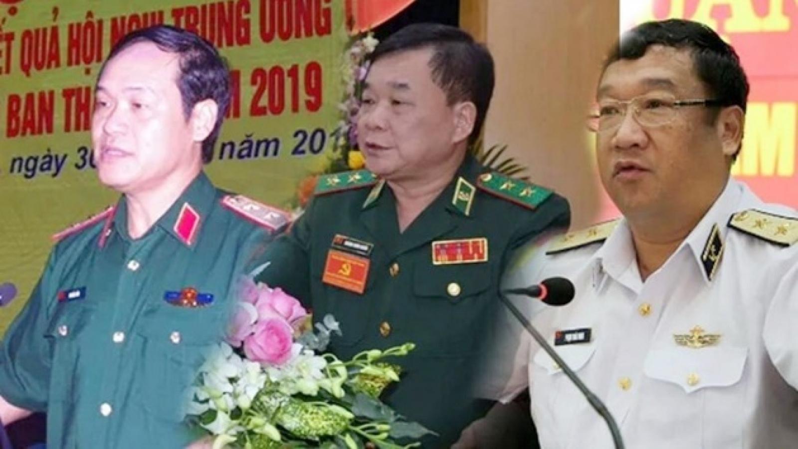 Chân dung 3 Thứ trưởng Bộ Quốc phòng mới được bổ nhiệm