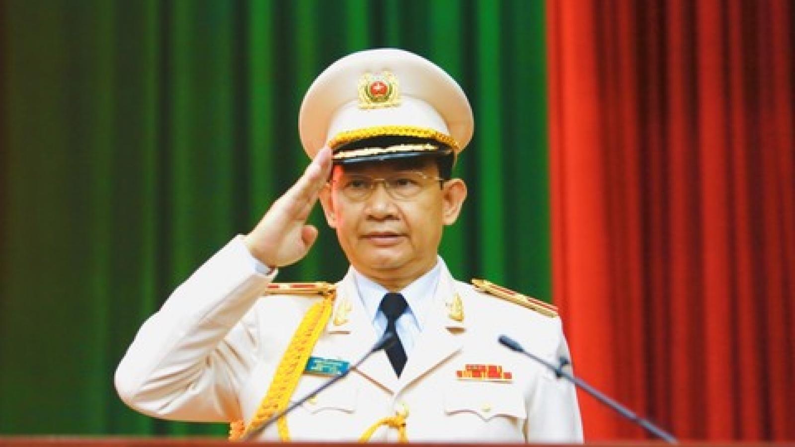 Thăng hàm Thiếu tướng cho Phó Giám đốc Công an TP HCM