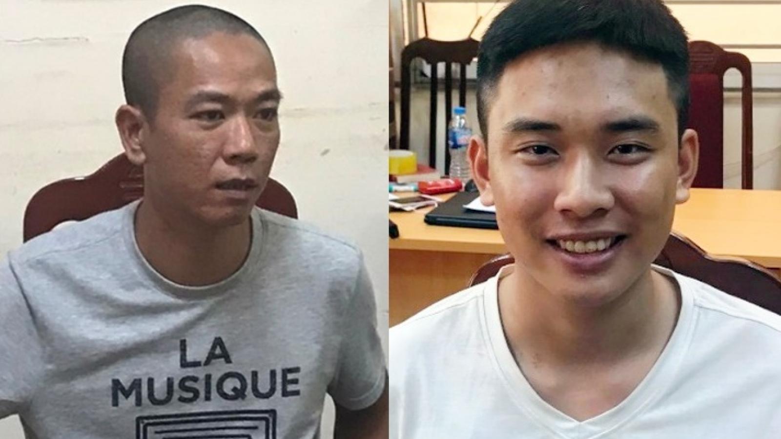 Hai tên cướp ngân hàng BIDV tại Hà Nội đã bị bắt