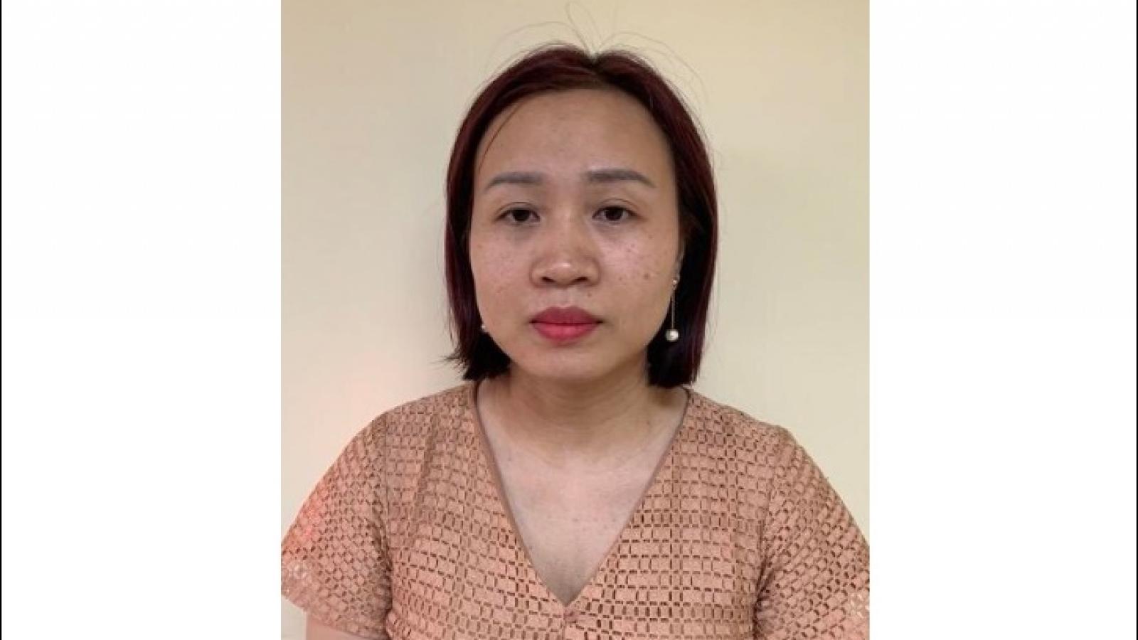 Khởi tố Kế toán trưởng Trung tâm kiểm soát bệnh tật CDC Hà Nội