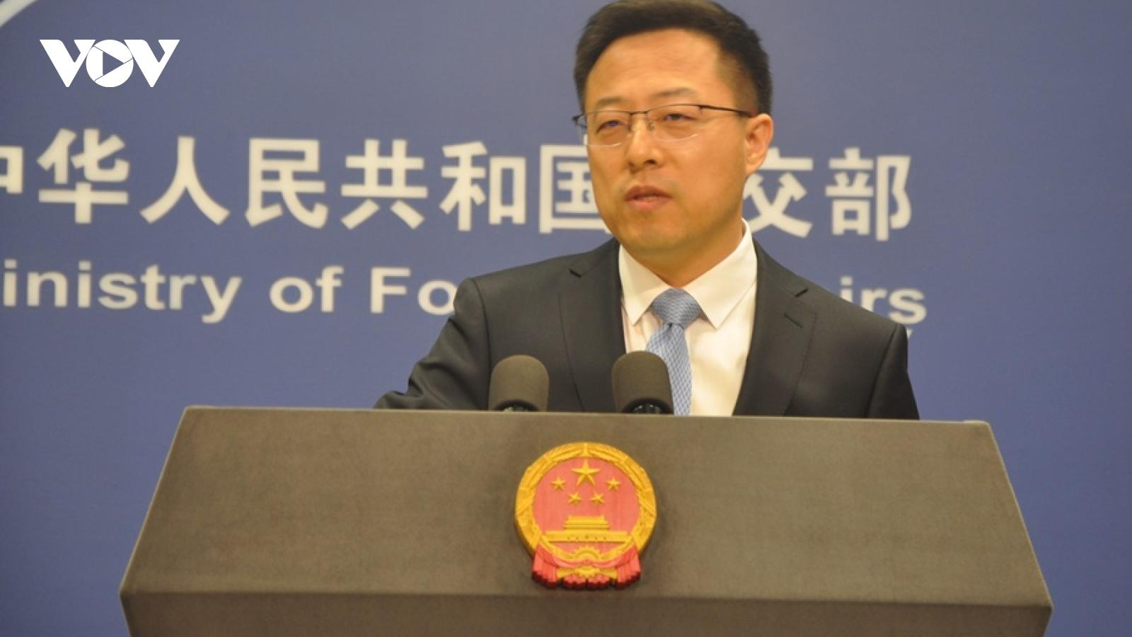 Trung Quốc phản ứng về chiến lược Ấn Độ Dương-Thái Bình Dương