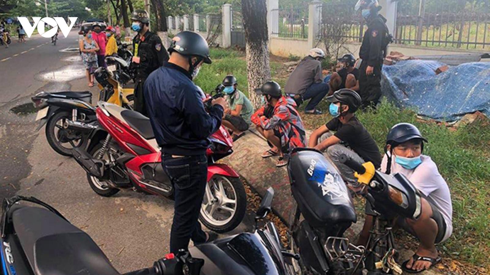 Công an Đà Nẵng xử lý nghiêm các vụ gây rối tại chốt kiểm dịch