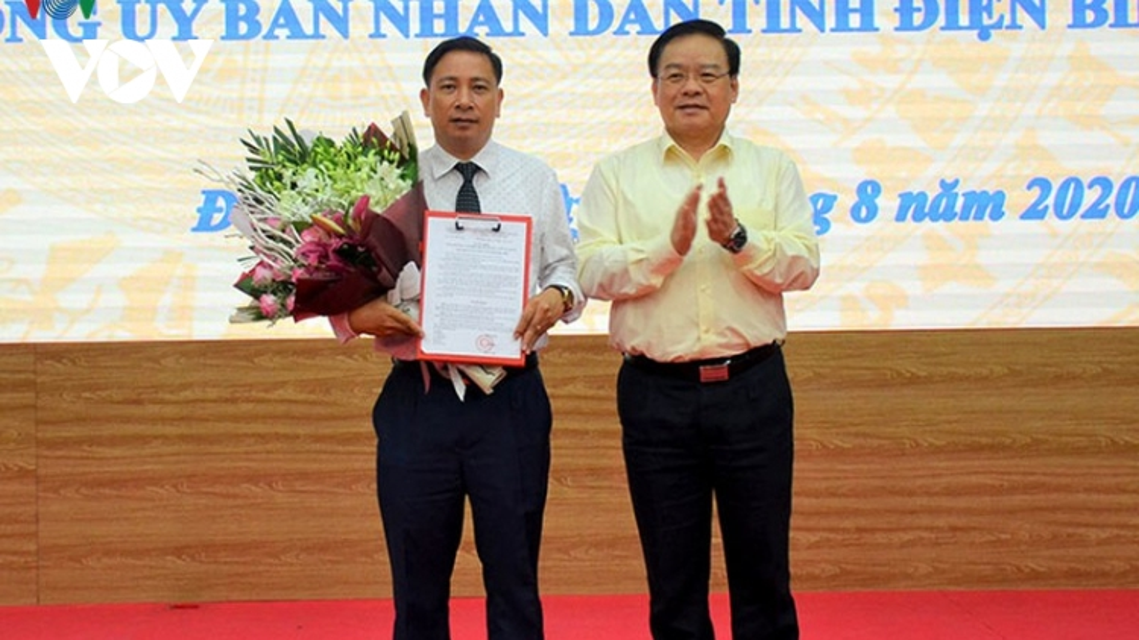 Chủ tịch huyện Tủa Chùa giữ chức Chánh Văn phòng UBND tỉnh Điện Biên