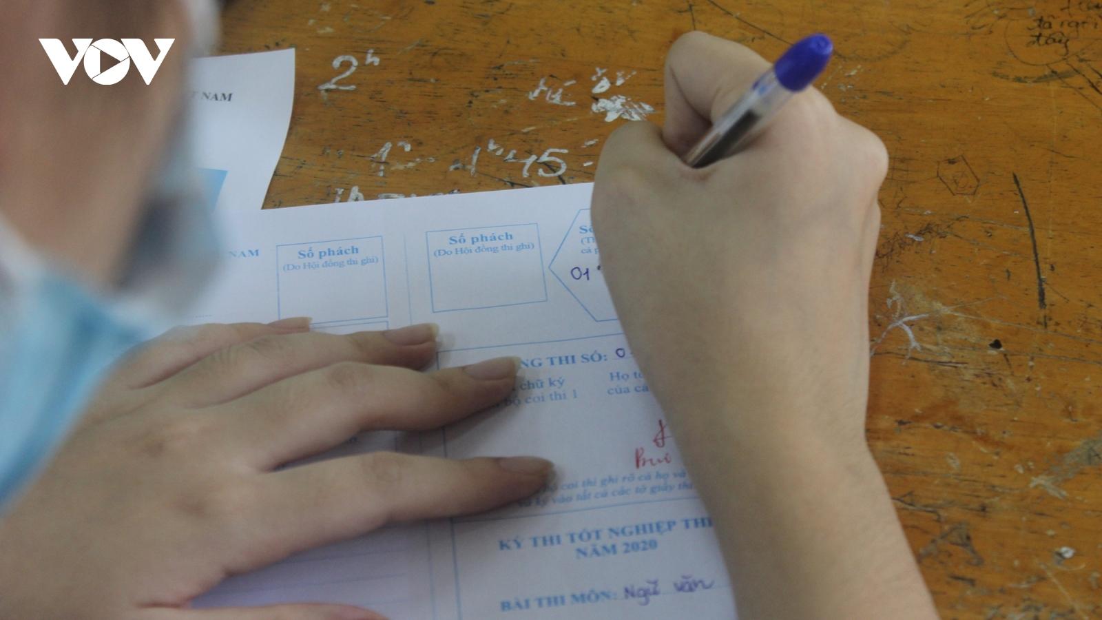 Điểm trung bình môn Hóa học kỳ thi tốt nghiệp THPT là 6,71 điểm