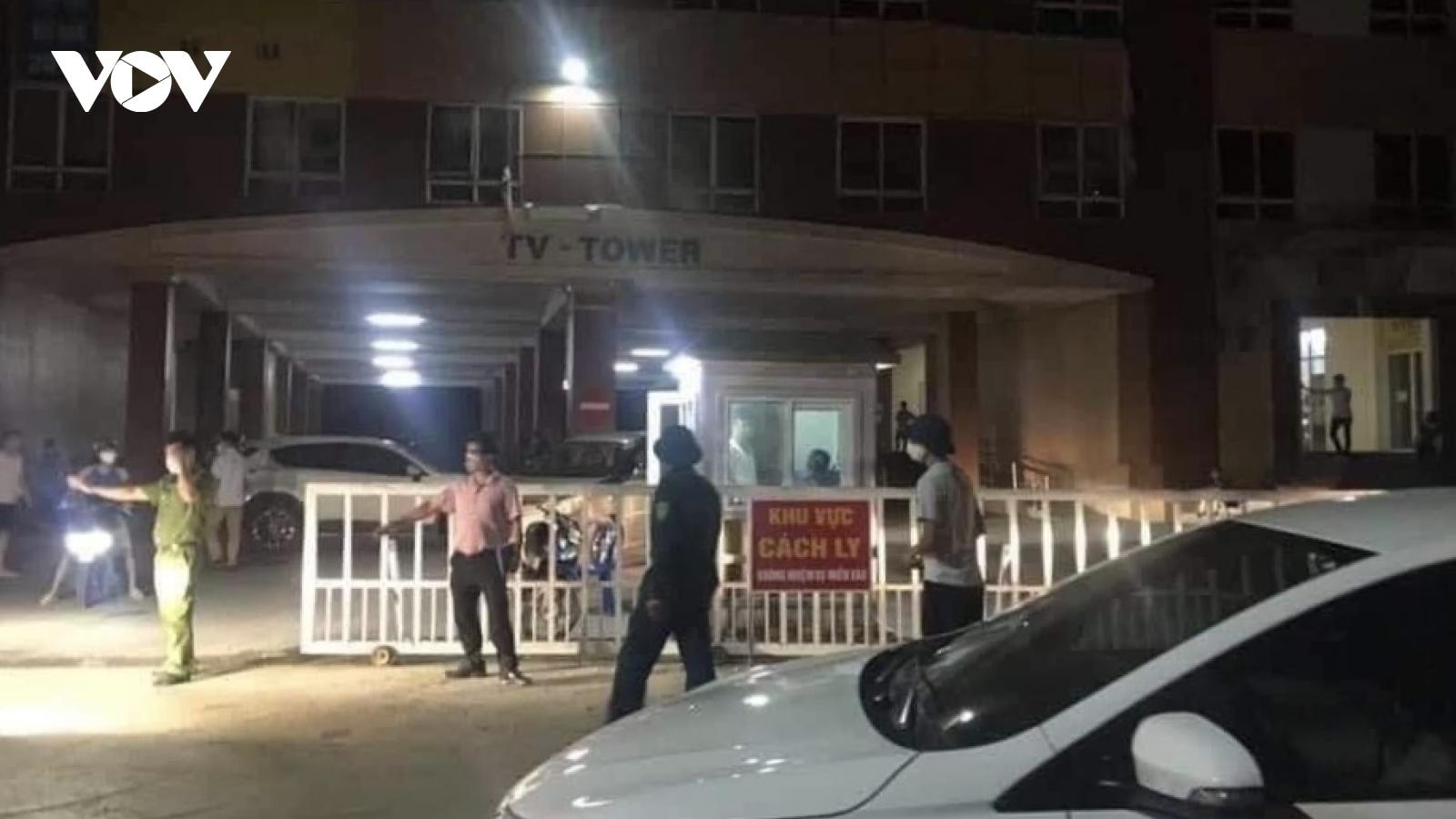 Hà Nội tiến hành phong toả chung cư Tân Việt vì ca nghi mắc Covid-19
